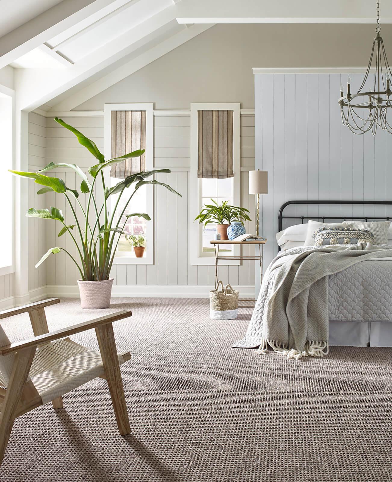 Classic style carpet for bedroom | Atlanta Flooring Design Centers Inc