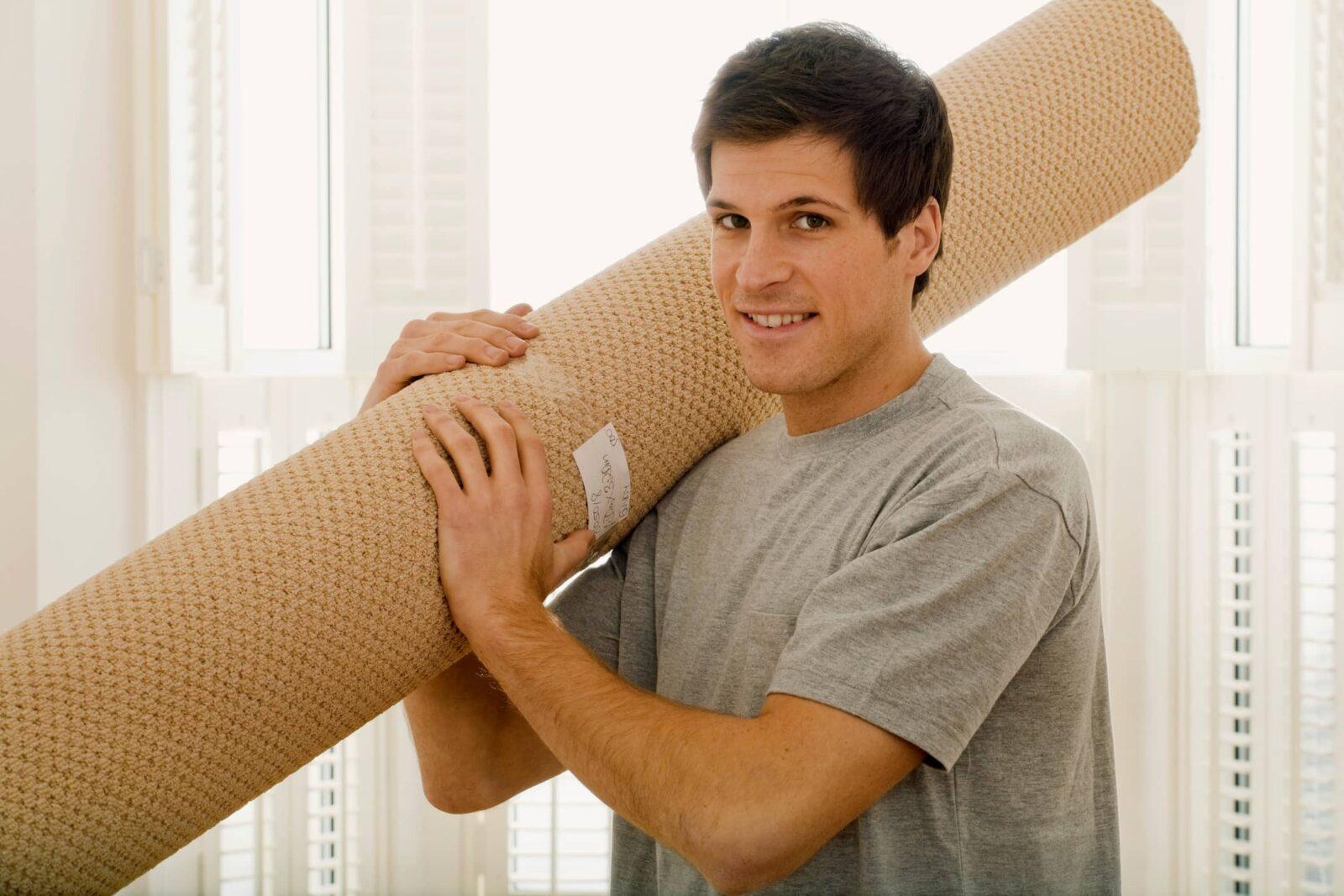carpet-roll-installation   Atlanta Flooring Design Centers Inc
