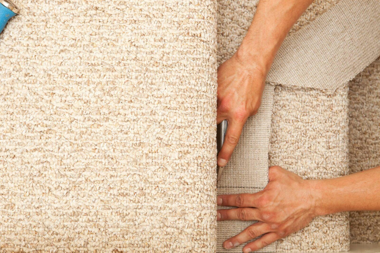 cutting-carpet   Atlanta Flooring Design Centers Inc