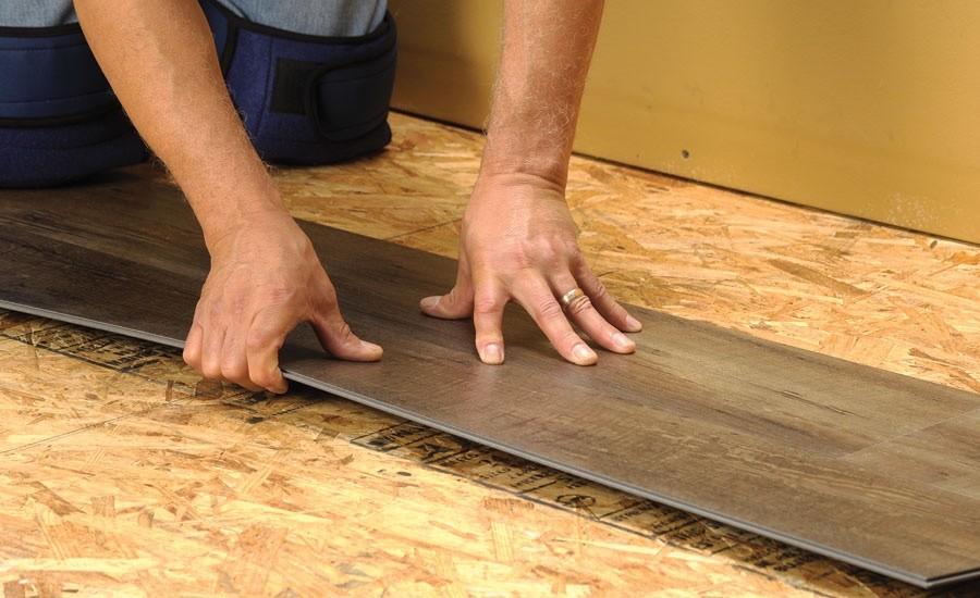LVT Installation   Atlanta Flooring Design Centers Inc